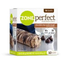 Zone Perfect Nutrition Bar Chocolate Chip Cookie Dough