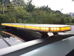 100 Light Bars For Tow Trucks 47 Amber Emergency 132 LED Bar Ultra Thin Truck Wrecker
