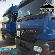 For Sale For Sale Truck 2 Actros Mega German 1841 M - AKAFI Industrial