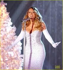Nbc Christmas Tree Lighting 2014 Mariah Carey by Mariah Carey Rockefeller Center Christmas Tree Lighting 2013