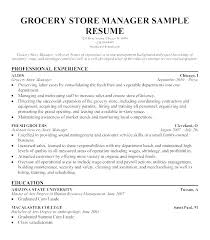 Store Manager Resume Examples Objective Sample Retail Top Rated