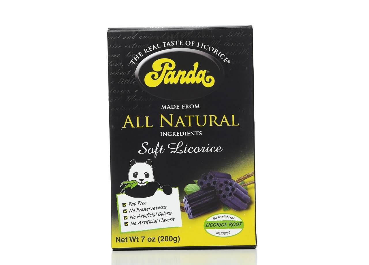 Panda All Natural Soft Licorice Chew - 7oz