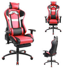 Reclining Gaming Chair With Footrest by Racing Chair Executive Gaming Chair Recliner Napping Office With