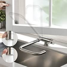 cecipa wasserhahn küche für spülbecken 360 falten drehbar