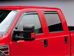 100 Truck Window Visors EGR Tapeless SlimLine InChannel 573511 Free