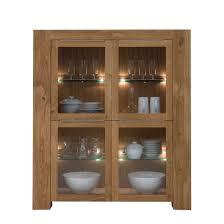 vitrine furios eiche massivholz glas geölt klar