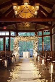 Rustic Simple Barnwood Outside Wedding
