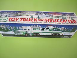 HESS TOY TRUCK & Helicopter - 1995 - New In Box - Never Used - $5.50 ...
