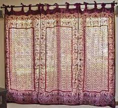 Amazon Velvet Curtain Panels by Brocade Curtain Pair Of Purple Gold Tab Top Sari Saree Curtains