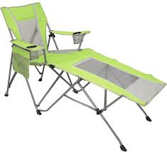 Alps Mountaineering Escape Camp Chair by Kijaro Coast Dual Lock Wave Lounger Key West Lime Green Camping