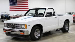 1986 Chevrolet S10 Pickup 2WD Regular Cab For Sale Near Grand Rapids ... 9496 S10 6ft Bed Chevrolet Questions What Does An Automatic 2003 43 6cyl Check Out Customized Jb64oldss 1992 Regular Cab Short Longbed Cversions Stretch My Truck 30 Best Of Chevy Dimeions Chart Gray Pick Up Tonneau Cover Isolated Stock Photo Image Of 5 Summer Projects For Under 5000 Sold 2002 92k Miles Meticulous Motors Inc Chevy S10 Pickup Superfly Autos Used Accsories For Sale