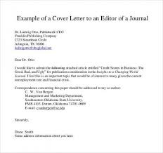 Sample Cover Letter For Report Submission Examples