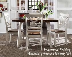 featured friday amelia 5 piece dining set american freight