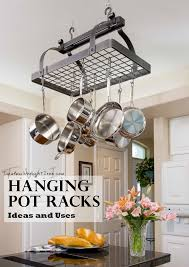 Whimsical Pot Racks ft Stone County Iron Works and Enclume Pot