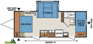 Travel Trailer Floor Plans Rear Kitchen by Travel Trailer With Outdoor Kitchen Kenangorgun Com