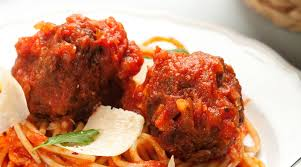 Meatballs and Spaghetti for Romance