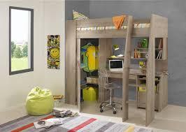 timber kids loft bunk beds with desk closet gautier gami