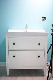 Ikea Sink Cabinet With 2 Drawers by Installing An Ikea Vanity And Sink