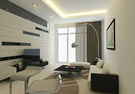led tv unit along interior design modern living room recessed