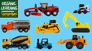Learning Construction Vehicles Names & Sounds For Kids - Hot Wheels ...