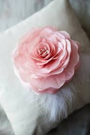 How To Make A Fabric Flower Rose For