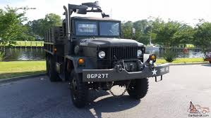 100 6x6 Military Truck 1967 M35A2 Army Deuce And A Half Winch Gun Ring