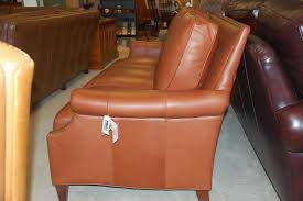 Bradington Young Sofa And Loveseat by By 644 95 Tappan Sofa In Leather 9085 85 Gr 5
