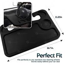 Amazoncom Zone Tech Car LaptopTablet And Food Steering Wheel Tray
