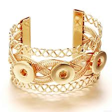 100 Where Is Dhgate Located 2019 N054 Noosa 3 Snap Bracelet Ginger Snap Jewelry Fit 18mm Snap