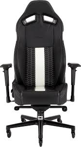 CORSAIR T2 ROAD WARRIOR Gaming Chair — Black/White Killabee 8212 Black Gaming Chair Furmax High Back Office Racing Ergonomic Swivel Computer Executive Leather Desk With Footrest Bucket Seat And Lumbar Corsair Cf9010007 T2 Road Warrior White Chair Corsair Warriorblack By Order The 10 Best Chairs Of 2019 Road Warrior Blackwhite Blackred X Comfort Air Red Gaming Star Trek Edition Hero