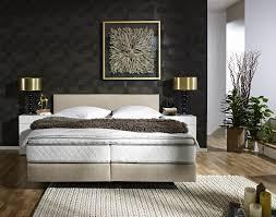 moderne schlafzimmer mit boxspringbett caseconrad