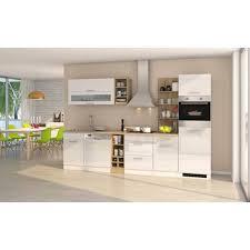 küchenzeile münchen vario 3 küche mit e geräten breite 310 cm hochglanz weiß