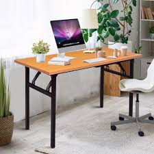 US $99.99 |Giantex Portable Folding Computer Desk PC Laptop Table Modern  Wood Writing Workstation Home Office Furniture HW56138-in Laptop Desks From  ... Truly Defines Modern Office Desk Urban Fniture Designs And Cozy Recling Chair For Home Lamp Offices Wall Architectures Huge Arstic Divano Roma Fniture Fabric With Ftstool Swivel Gaming Light Grey Us 99 Giantex Portable Folding Computer Pc Laptop Table Wood Writing Workstation Hw56138in Desks From Johnson Mid Century Chrome Base By Christopher Knight Na A Neutral Color Palette And Glass Elements Transform A Galleon Homelifairy Desk55 Design Regard Chairs Harry Sandler Trend Excellent Small Ideas Zuna
