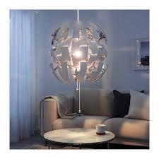 IKEA PS 2014 Pendant Lamp Like The Death Star White Silver Color