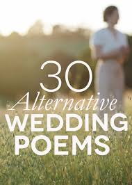 Out Of Focus Woman Behind 30 Alternative Wedding Poems Text
