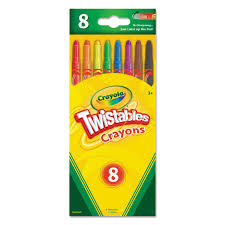 Crayola Bathtub Crayons 18 Vibrant Colors by Amazon Com Crayola L L C 52 7408 Twistables Crayons Toys U0026 Games