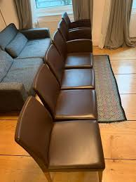 6 lederstühle esszimmer poltrona frau liz designer stuhl