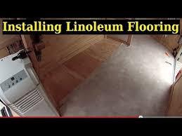 Checkerboard Vinyl Flooring For Trailers by Installing Linoleum Flooring 6x10 Enclosed Trailer