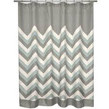 Chevron Print Shower Curtains by Grey Cream Geometric Pattern Shower Curtain Polyester Abstract