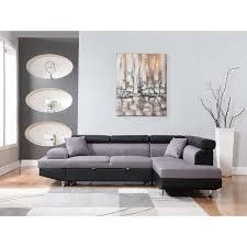 canapé d angle de luxe canapé d angle droit luxe noir gris achat vente