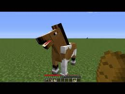 tuto minecraft comment monter un cheval creatif
