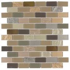 Thinset For Glass Mosaic Tile by Coastal Blend Mixed Material Mosaic Wall Tile Common 12 In X 12