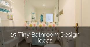 The Best Small Bathroom Ideas To Make The 19 Tiny Bathroom Ideas To Inspire You Sebring Design Build