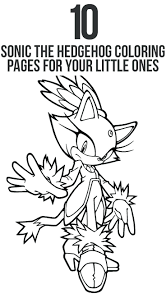Printable Sonic Hedgehog Blaze Coloring Pages For Kids Unleashed Menu With Prices Pdf Boom