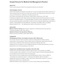 Cover Letter Resume Administrative Officer Sample With Objective Assistant Objectives Pin By