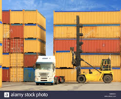 Forklift And Truck With Shipping Containers Stock Photo: 58706268 ... Shipping Containers 8ft Tunnel Container With Personnel Doors And Shipping Container Cafe Pop Up Labuan Malaysia Aug 22017 Containers Unloading Any Photos Of Macks Hauling Shipping Containers Antique 1000 Great Photos Pexels Free Stock Gate To What Happens When A Truck Picks Youtube Twentyfoot Equivalent Unit Wikipedia For Sale Sydney Containefirst Buy In Houston Texas Cgintainersalescom Delivery North South Carolina Conex Boxes Ccc