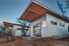 Best Mates Build Tiny Row Of Houses In New Take On Small Living Trend