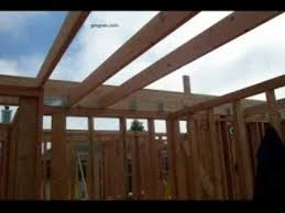 how to flatten vaulted ceiling pressure blocking and joist
