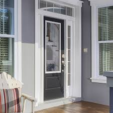 Therma Tru Patio Doors With Blinds by Therma Tru Smooth Star 3 4 Lite 2 Panel Door Is A Gorgeous Choice