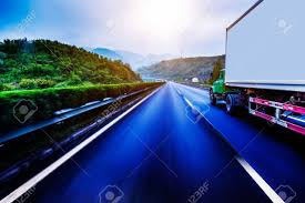 Container Trucking Stock Photo, Picture And Royalty Free Image ...